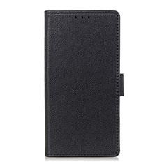 Handytasche Stand Schutzhülle Flip Leder Hülle L08 für Nokia 4.2 Schwarz
