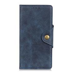 Handytasche Stand Schutzhülle Flip Leder Hülle L08 für Oppo Reno5 Pro+ Plus 5G Blau