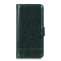 Handytasche Stand Schutzhülle Flip Leder Hülle L09 für Huawei Y5p Grün