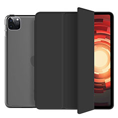 Handytasche Stand Schutzhülle Flip Leder Hülle L10 für Apple iPad Pro 12.9 (2020) Schwarz