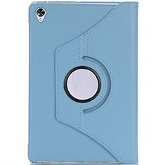 Handytasche Stand Schutzhülle Flip Leder Hülle L10 für Huawei MediaPad M6 10.8 Hellblau