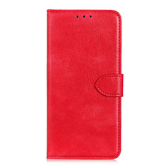 Handytasche Stand Schutzhülle Flip Leder Hülle L10 für Huawei Y5p Rot