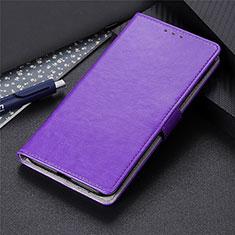 Handytasche Stand Schutzhülle Flip Leder Hülle L10 für LG K41S Violett