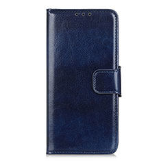 Handytasche Stand Schutzhülle Flip Leder Hülle L10 für LG K92 5G Blau