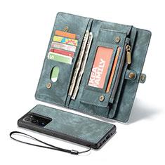 Handytasche Stand Schutzhülle Flip Leder Hülle L10 für Samsung Galaxy Note 20 Ultra 5G Grün