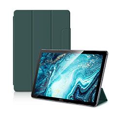 Handytasche Stand Schutzhülle Flip Leder Hülle L11 für Huawei MediaPad M6 10.8 Grün