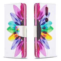 Handytasche Stand Schutzhülle Flip Leder Hülle L11 für Nokia 2.4 Bunt