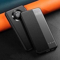 Handytasche Stand Schutzhülle Flip Leder Hülle L12 für Huawei Mate 40 Schwarz