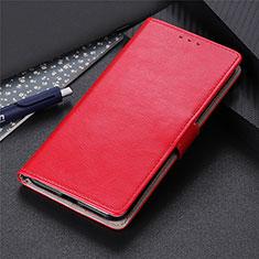 Handytasche Stand Schutzhülle Flip Leder Hülle L12 für Motorola Moto Edge Rot