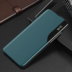 Handytasche Stand Schutzhülle Flip Leder Hülle L15 für Xiaomi Redmi K30S 5G Cyan