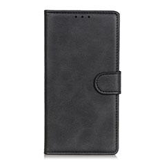 Handytasche Stand Schutzhülle Flip Leder Hülle N06 für Huawei P40 Schwarz