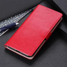 Handytasche Stand Schutzhülle Flip Leder Hülle N07 für Huawei P40 Rot