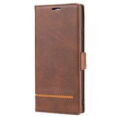Handytasche Stand Schutzhülle Flip Leder Hülle N11 für Samsung Galaxy Note 20 Ultra 5G Braun