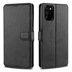 Handytasche Stand Schutzhülle Flip Leder Hülle N12 für Samsung Galaxy Note 20 Ultra 5G Schwarz