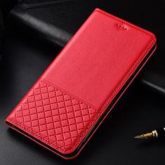 Handytasche Stand Schutzhülle Flip Leder Hülle T02 für OnePlus 7T Pro Rot