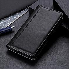 Handytasche Stand Schutzhülle Flip Leder Hülle T02 für Realme X50 Pro 5G Schwarz