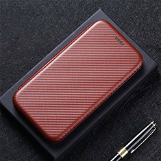 Handytasche Stand Schutzhülle Flip Leder Hülle T03 für Huawei Mate 40 Pro Braun