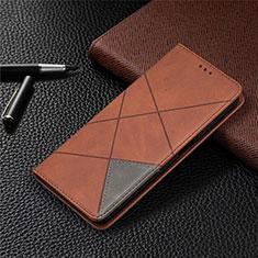 Handytasche Stand Schutzhülle Flip Leder Hülle T04 für Xiaomi Mi 10T Lite 5G Braun