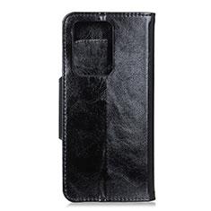 Handytasche Stand Schutzhülle Flip Leder Hülle T05 für Huawei P40 Pro+ Plus Schwarz