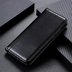 Handytasche Stand Schutzhülle Flip Leder Hülle T05 für Oppo Reno4 Pro 5G Schwarz