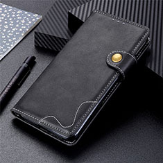 Handytasche Stand Schutzhülle Flip Leder Hülle T06 für Huawei P Smart (2020) Schwarz
