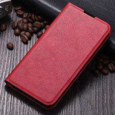 Handytasche Stand Schutzhülle Flip Leder Hülle T06 für Samsung Galaxy Note 10 Plus 5G Rot
