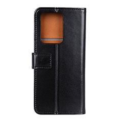 Handytasche Stand Schutzhülle Flip Leder Hülle T07 für Huawei P40 Pro+ Plus Schwarz