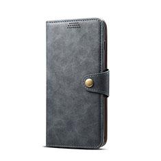 Handytasche Stand Schutzhülle Flip Leder Hülle T08 für Samsung Galaxy S10e Schwarz