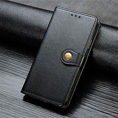 Handytasche Stand Schutzhülle Flip Leder Hülle T10 für Oppo Find X2 Lite Schwarz