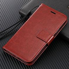 Handytasche Stand Schutzhülle Flip Leder Hülle T14 für Xiaomi Mi Note 10 Braun