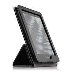 Handytasche Stand Schutzhülle Leder für Amazon Kindle Paperwhite 6 inch Schwarz