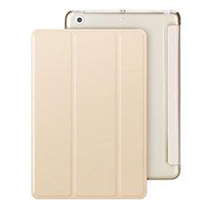 Handytasche Stand Schutzhülle Leder für Apple iPad Mini 2 Gold