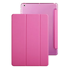 Handytasche Stand Schutzhülle Leder für Apple iPad Mini 2 Pink