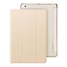 Handytasche Stand Schutzhülle Leder für Apple iPad Mini 3 Gold