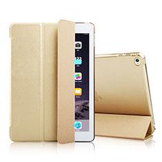 Handytasche Stand Schutzhülle Leder für Apple iPad Mini 4 Gold