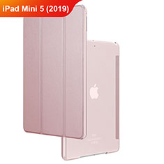 Handytasche Stand Schutzhülle Leder für Apple iPad Mini 5 (2019) Rosegold