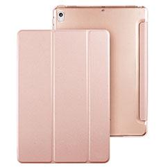 Handytasche Stand Schutzhülle Leder für Apple iPad Pro 10.5 Rosegold