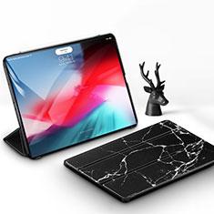 Handytasche Stand Schutzhülle Leder für Apple iPad Pro 11 (2018) Schwarz