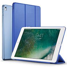 Handytasche Stand Schutzhülle Leder für Apple iPad Pro 12.9 (2017) Blau