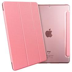Handytasche Stand Schutzhülle Leder für Apple New iPad 9.7 (2018) Rosa