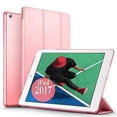 Handytasche Stand Schutzhülle Leder für Apple New iPad Pro 9.7 (2017) Rosa