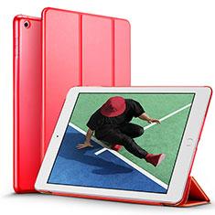 Handytasche Stand Schutzhülle Leder für Apple New iPad Pro 9.7 (2017) Rot