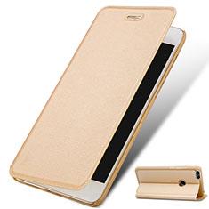 Handytasche Stand Schutzhülle Leder für Huawei Enjoy 7 Gold