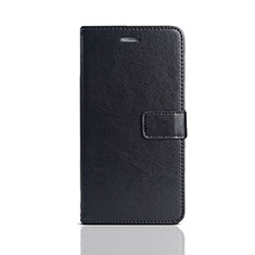 Handytasche Stand Schutzhülle Leder für Huawei Enjoy 8e Lite Schwarz
