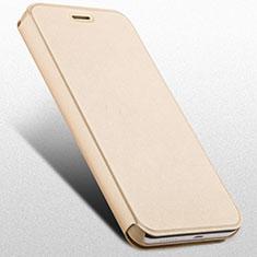 Handytasche Stand Schutzhülle Leder für Huawei Honor 4X Gold