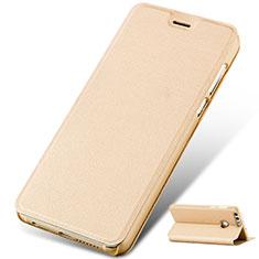 Handytasche Stand Schutzhülle Leder für Huawei Honor 8 Gold