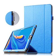 Handytasche Stand Schutzhülle Leder für Huawei MatePad 10.8 Blau