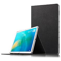 Handytasche Stand Schutzhülle Leder für Huawei MatePad 10.8 Schwarz