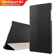 Handytasche Stand Schutzhülle Leder für Huawei Mediapad M2 8 M2-801w M2-803L M2-802L Schwarz
