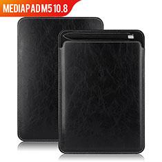 Handytasche Stand Schutzhülle Leder für Huawei MediaPad M5 10.8 Schwarz